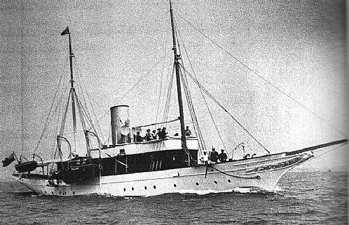 SY Medea, 1904Clydesite