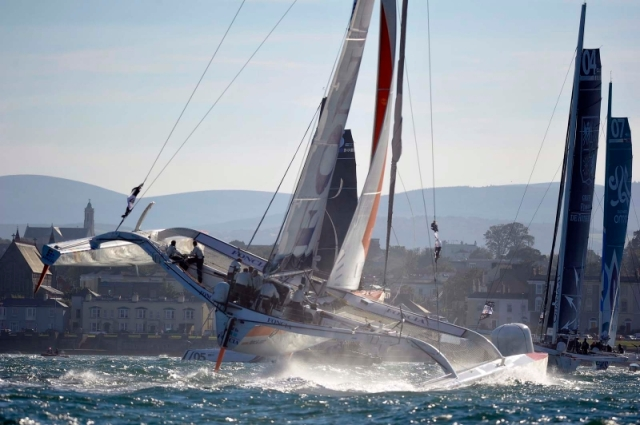 MOD70sDún Laoghaire1 © Michael Chester National Yacht Club
