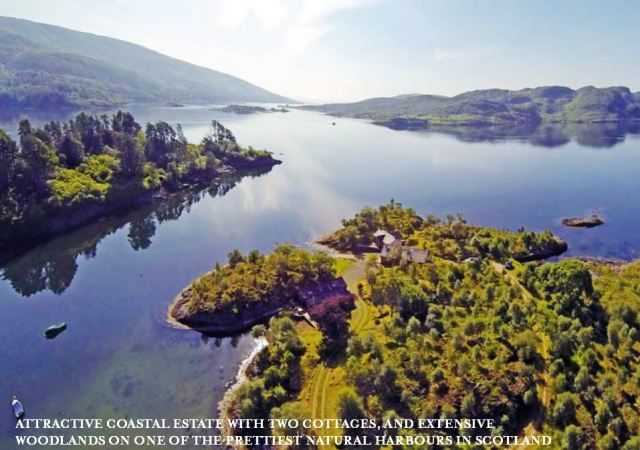 Caladh Harbour, iconic Firth of Clyde haven. Savills