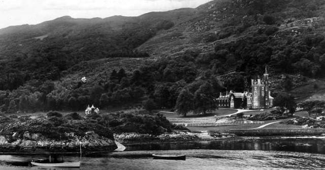 Glencaladh in Stephenson's time. Tour Scotland