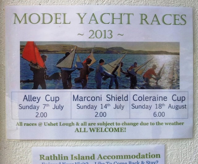Rathlin Model Yacht Races 2013