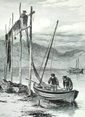 Loch Fyne Fishermen 1883