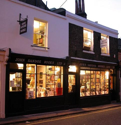 John Sandoe Books, Chelsea, London. (Mylene Friedrich Rizzo / Clarisse Zanetello Linhares)